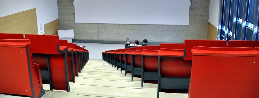 Neubau Hörsaalzentrum PPS RWTH Aachen, Bauherr BLB NRW Aachen, Planung HH+F Architekten, Objektplanung: Leistungsphasen 6-8